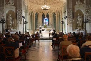 1 E Rossfelder et F Héau 11.10.2020 Chapelle Royale Dreux