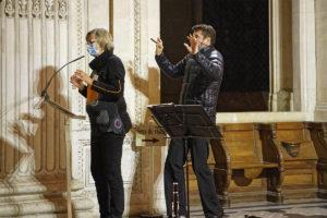 12 Samedis Musicaux E Rossfelder et F Jéau 11.10.2020 humour masqué